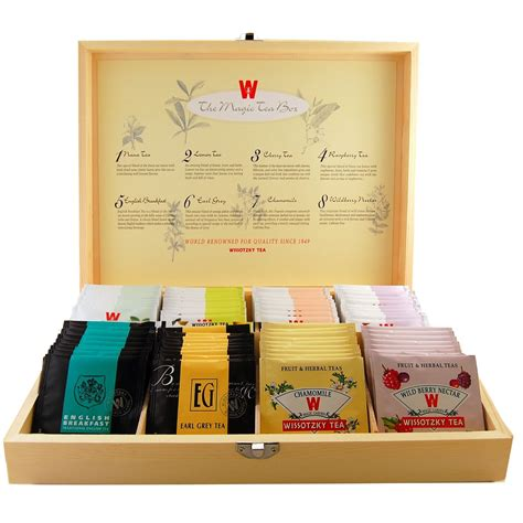 great gifts for wissotzky magic tea box great gifts for tea