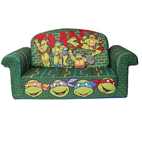 teenage mutant ninja turtles sofa chair marshmallow furniture children s 2 in 1 flip open foam
