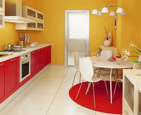 yellow and red kitchens 7 paint colors that go well with red