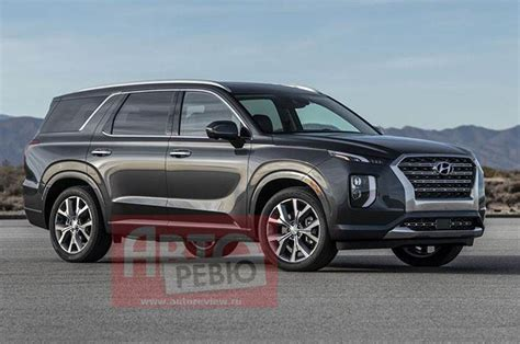 2020 hyundai palisade hybrid 2020 hyundai palisade suv leaked ahead of official unveil