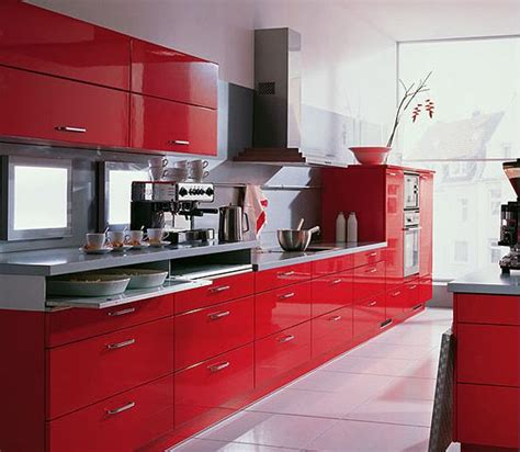 kitchen modern kitchen cabinet design with red color best 20 red kitchen cabinets ideas on pinterest red