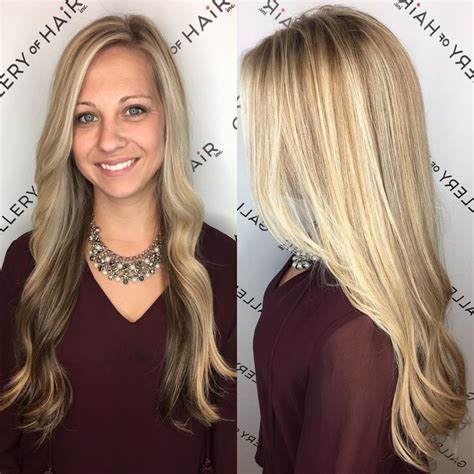 Layers With Soft Waves Hairstyles s highlighted hair with front layers and