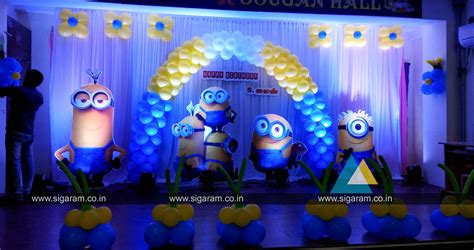 themes windows 10 minions minions themed birthday party decoration sougan hall