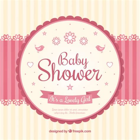 invite baby shower vector baby shower card with a mobile vector free download
