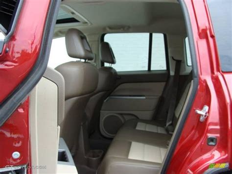 red jeep compass 2007 2007 inferno red crystal pearlcoat jeep compass limited
