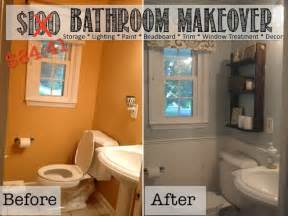Small Bathroom Ideas Diy by Two It Yourself Reveal 100 Small Bathroom Makeover