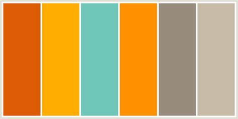 color combinations with orange color palettes color schemes and aqua color palette on