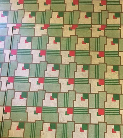 the beautiful world of 1940s linoleum flooring the