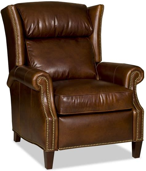 reclining wing back chairs 1000 ideas about leather recliner chair on pinterest