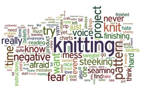 knitting words how to overcome your knitting fears knitfreedom