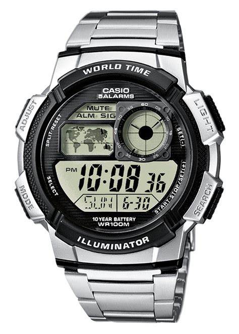 casio gents digital ae 1000wd 1avef 163 29 75 from