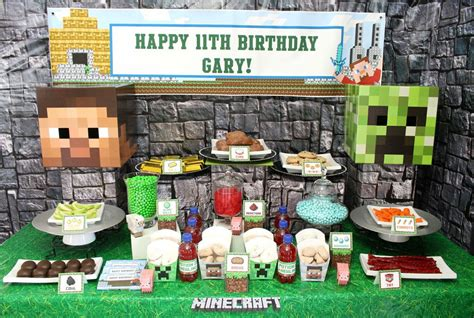 party themes minecraft minecraft party ideas