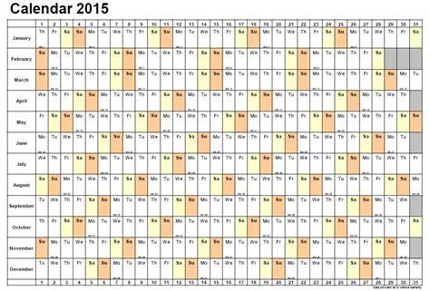single page calendar template 681 in 8 complete 2015 calendar template designs to