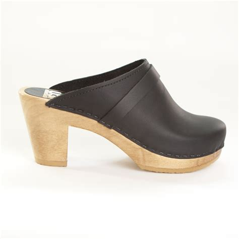 high heel clogs for plain clogs