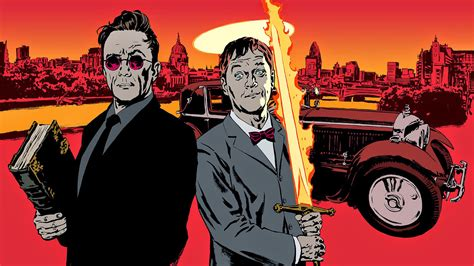 watch neil gaiman talks bbc radio 4 s good omens adaptation