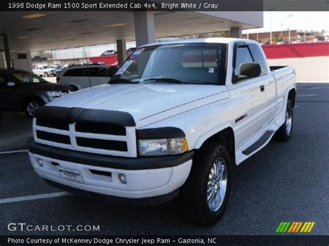 1998 dodge ram 1500 sport bright white 1998 dodge ram 1500 sport extended cab 4x4