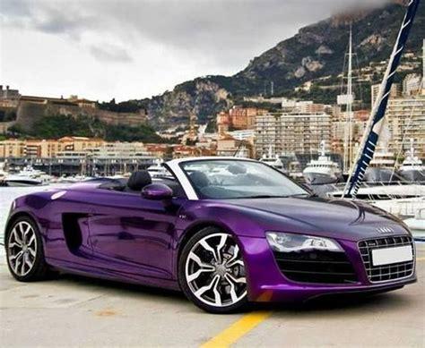 Purple Audi R8 by Audi R8 Spyder Purple Color Audi Cars