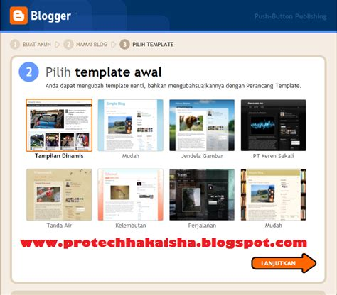 cara membuat blog khusus video cara membuat blog di blogger untuk pemula