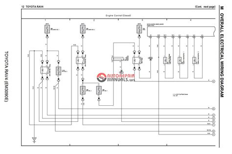 toyota rav4 electrical wiring diagram pdf car service toyota rav4 2013 wiring diagram auto repair manual forum heavy equipment forums download
