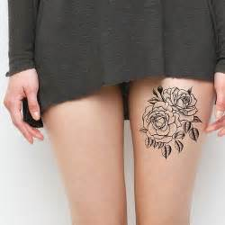 black rose leg tattoo best tattoo ideas amp designs