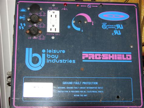 I Have A Leisure Bay Pro Shield Hot Tub Model