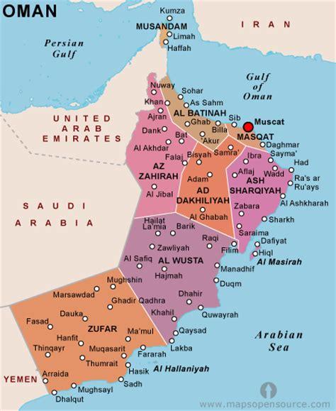 oman political map free oman political map political map of oman