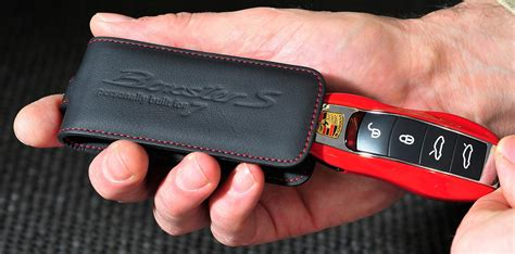 porsche pouch porsche boxster s red 7 edition key pouch