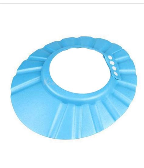Baby Shower Caps by True India Blue Pvc Baby Shower Cap Buy True India Blue