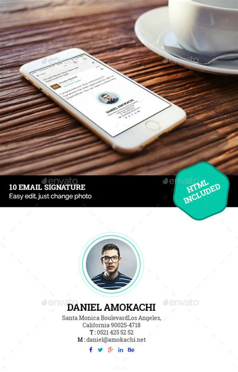 email template design psd 15 awesome email signature psd templates web graphic