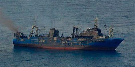 un barco en alta mar letra la fiscal 237 a abre una investigaci 243 n sobre el pesquero