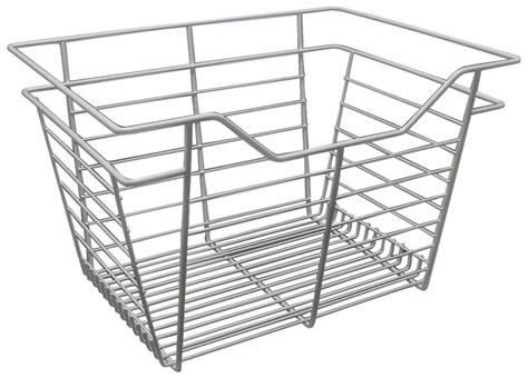 Closet Wire Basket by Wire Closet Basket With Extension Slides In The