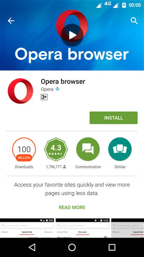 opera browser for android 12 best android browsers that you should be using