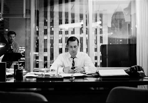 on the set of mad men at the office in the home artwork james minchin s behind the scenes photos of mad men the