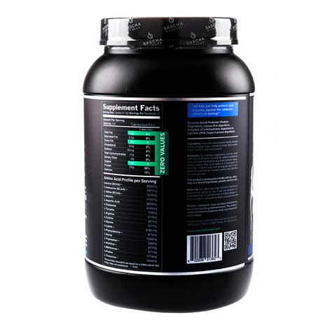 Fitnes Whey Protein sascha fitness hydrolyzed whey protein isolate 2 lb