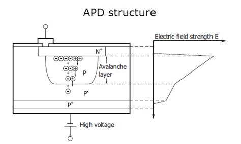 avalanche photodiode electric field genio italiano giuseppe cotellessa guide to selecting a photodetector