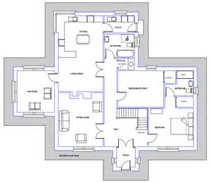 Home Plan by House Plans No 86 Clonfane Blueprint Home Plans House