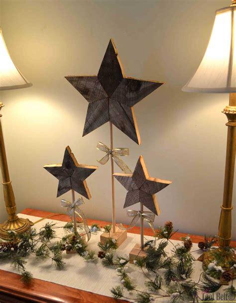 printable rustic star rustic patchwork wood stars her tool belt