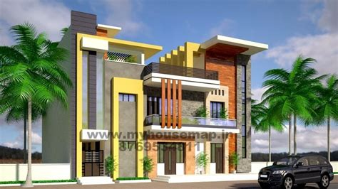 3d exterior house design exterior front elevation design house map building design