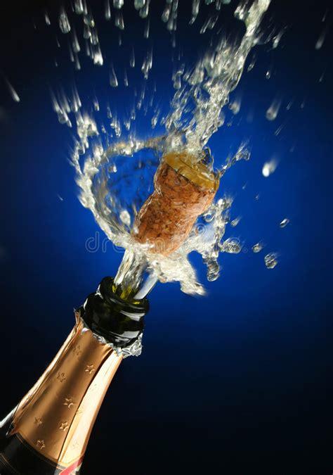 champagne bottle ready  celebration stock photo image