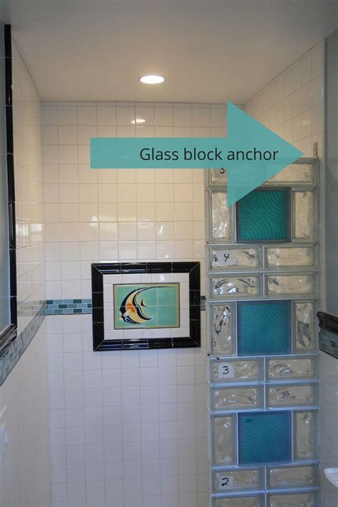 glass blocks bathroom walls 90 best images about glass block colored frosted on