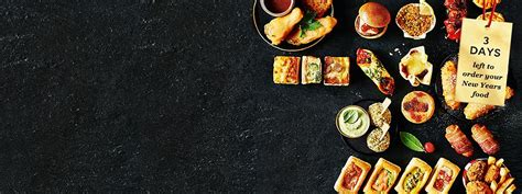 new year food order food wine cakes marks spencer