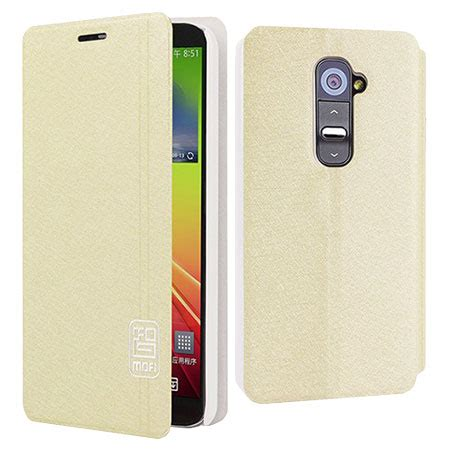 mofi leather for lg g2 mofi youth series folio stand for lg g2 beige