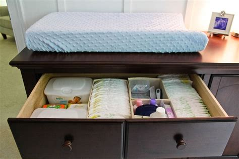 Organize Changing Table Drawer Organizing Tips That Keep The Mess At Bay