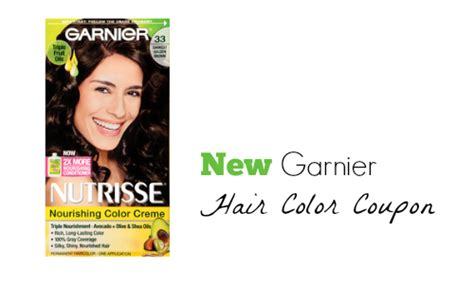 garnier hair color coupons garnier coupon hair color for 3 32 southern savers