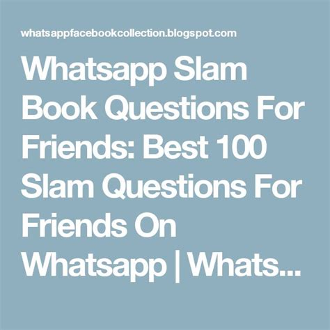 Or Question Through Whatsapp 17 Best Ideas About Slam Book On Childhood Memories 90s And 1980s