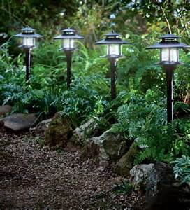 garden path solar lights set of 4 solar path lights with remote solar panel solar