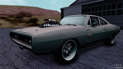 dodge 1970 charger dodge charger rt 1970 fnf7 for gta san andreas