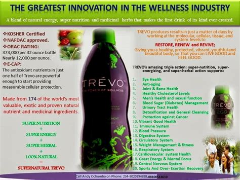 4g supplement benefits healthy wealthy the story behinde trevo creation s