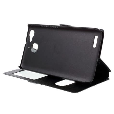 Hardcase Huawei Gr3 sneak peek window view flip huawei gr3 black