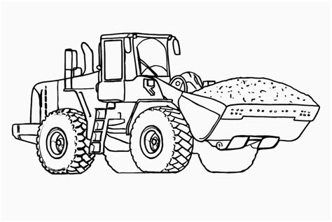 coloring pages tractor coloring pages printable for kids